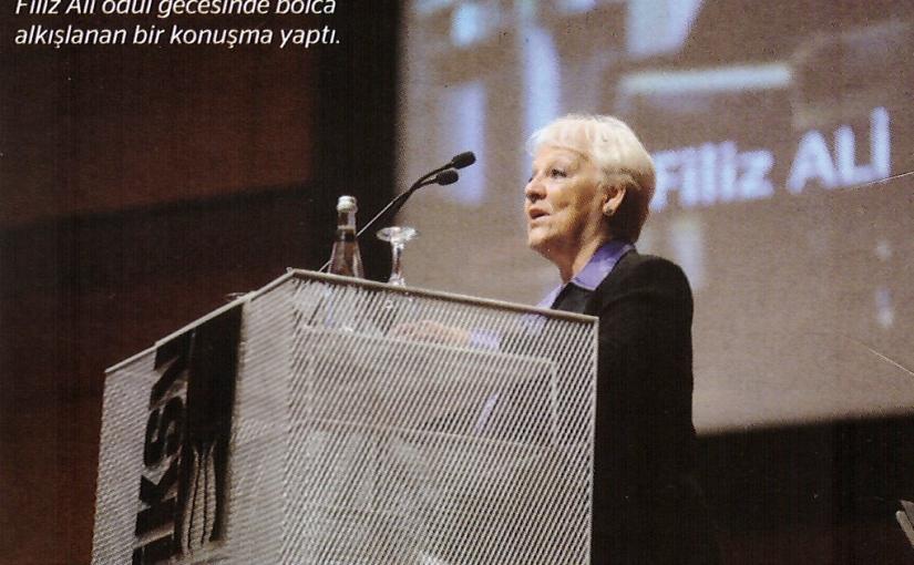 43. İstanbul Müzik Festivali'nin Onur Ödülü Müzikolog FilizAli'nin