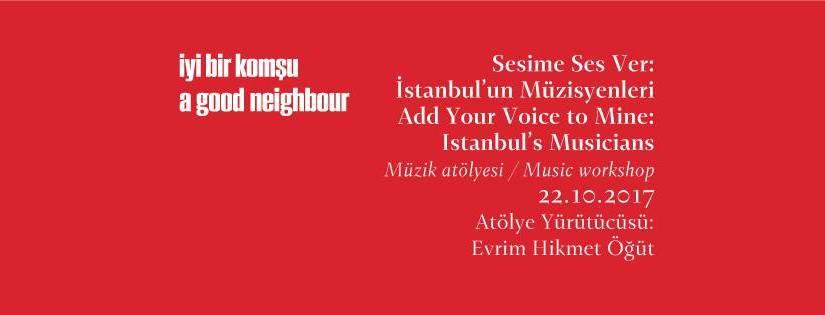 Sesime Ses Ver: İstanbul'un Müzisyenleri